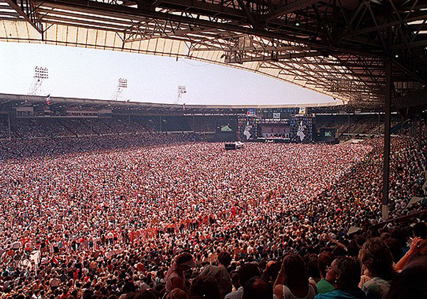Live Aid 1985 Crowd 2 by Steve Stachini JFK247