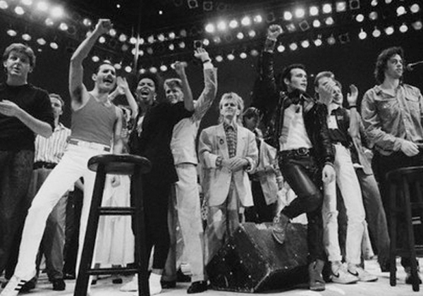 Live Aid 1985 Finale by Steve Stachini JFK247