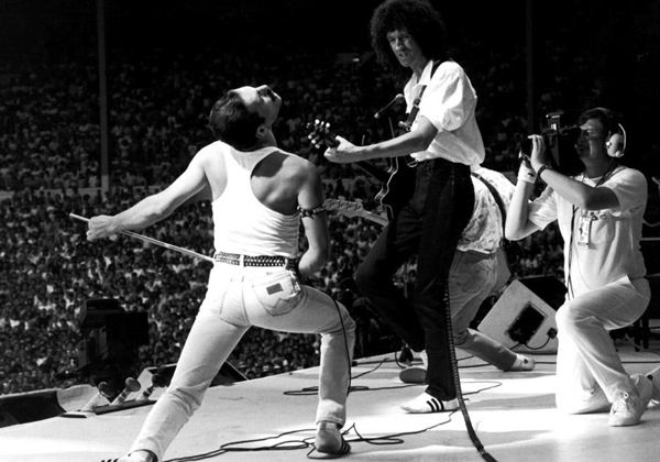 Live Aid 1985 Queen by Steve Stachini JFK247