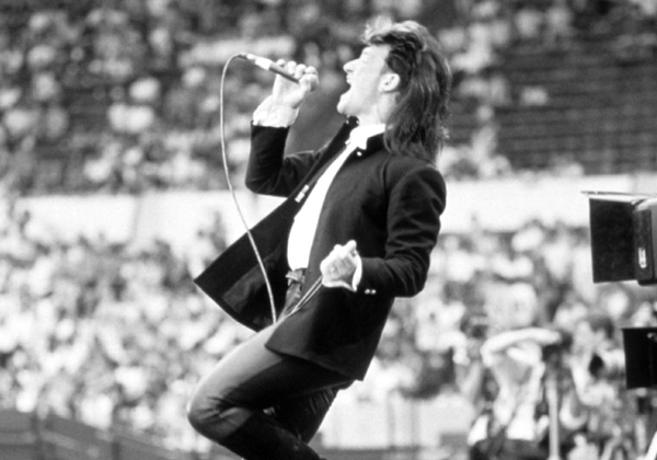 Live Aid 1985 U2 by Steve Stachini JFK247