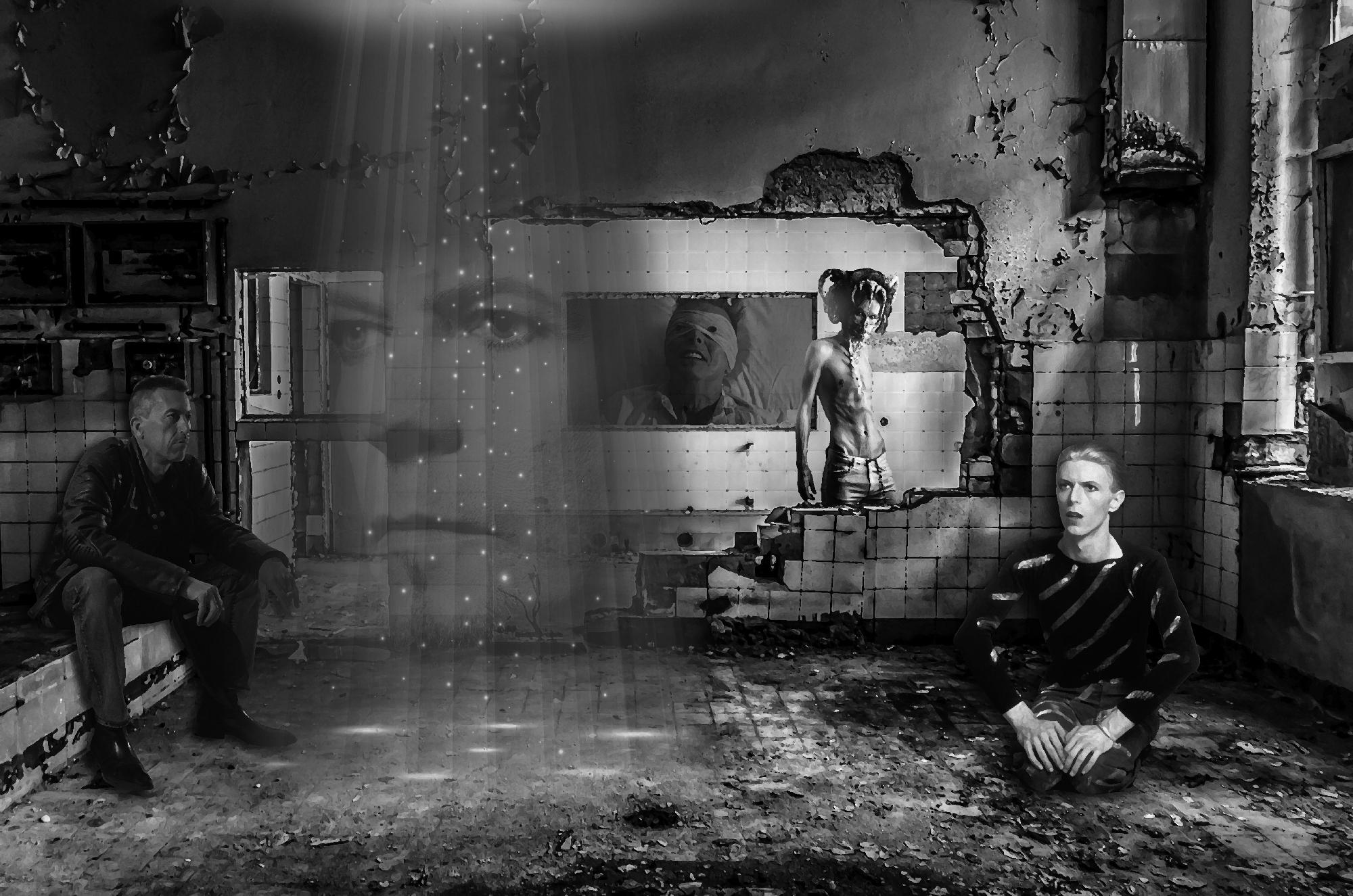 David Bowie Art Creation by Steve Stachini - TBC Six T8 80cm x 53cm