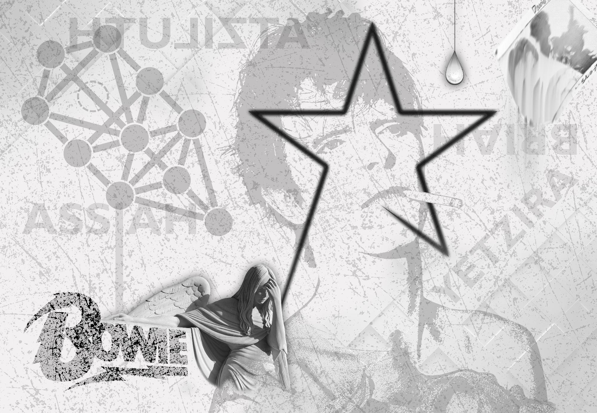 White Star 130x90 by Steve Stachini blackstar STUDIO