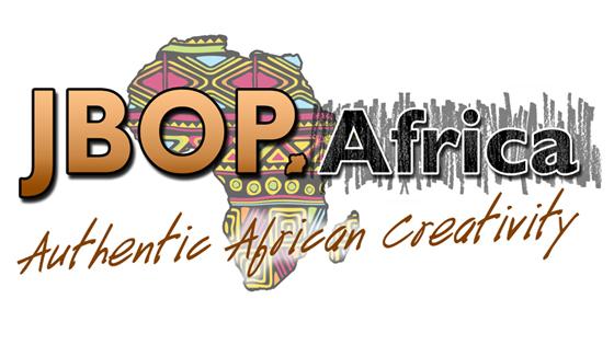 Steve Stachini #JBOP Logo showing an artistic map of Africa