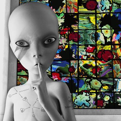 David Bowie Art Creation by Steve Stachin - Loving The Alien