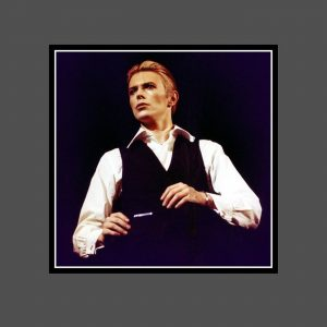 01 Station To Station Tour 1976 - David Bowie Photo Exclusive - Signed by the Legendary Rock Photographer John Rowlands for the blackstar.STUDIO