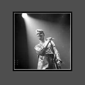 04 Isolar Two Tour 1978 - David Bowie Photo Exclusive - Signed by the Legendary Rock Photographer John Rowlands for the blackstar.STUDIO