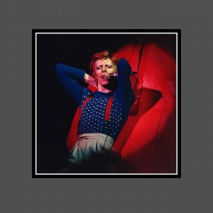 05 Diamond Dogs Tour 1974 - David Bowie Photo Exclusive - Signed by the Legendary Rock Photographer John Rowlands for the blackstar.STUDIO