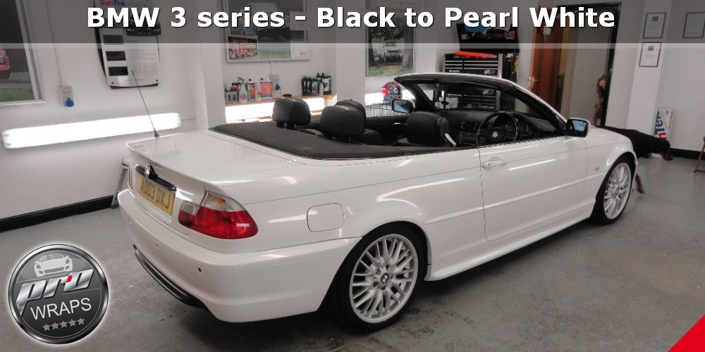 ProWraps - BMW 3 series - Black to Pearl White-_39