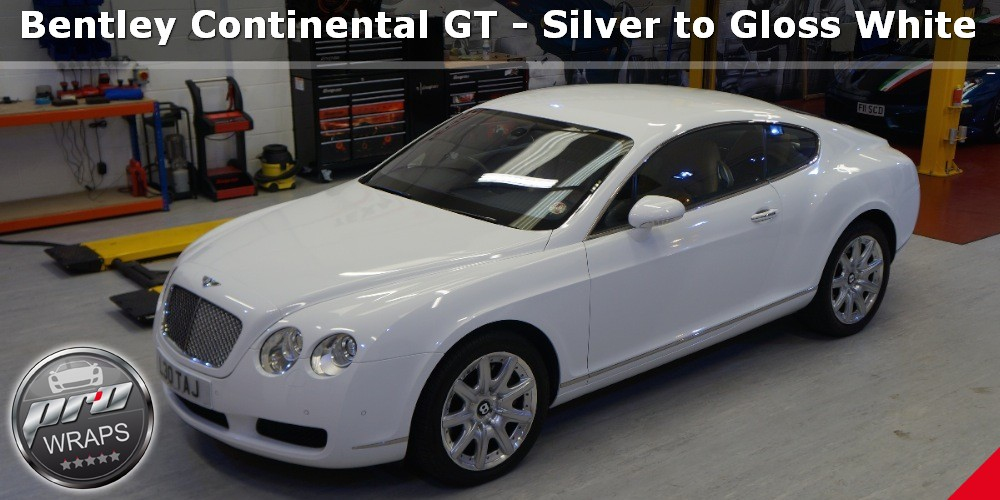 ProWraps - Bentley Continental GT - Silver to Gloss White-_37