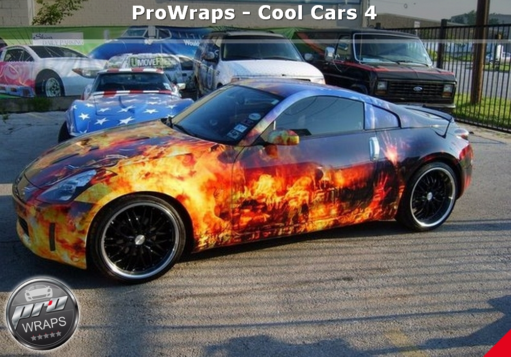 ProWraps Yacht Wraps Full Print Cool Cars -