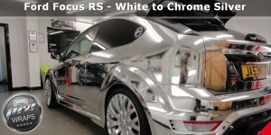 ProWraps - Ford Focus RS - White to Chrome Silver-_18