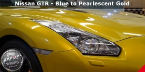 ProWraps - Nissan GTR - Blue to Pearlescent Gold-_43