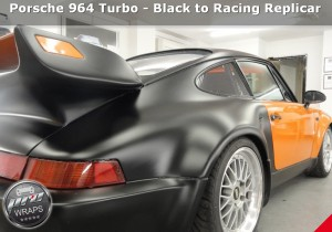 ProWraps - Porsche 964 Turbo - Black to Racing Replicar-_39