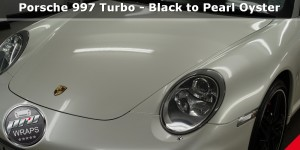 ProWraps - Porsche 997 - Black to Pearl Oyster (225)