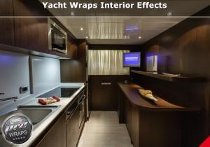 Italy, Viareggio (Tuscany), 100' luxury yacht, kitchen